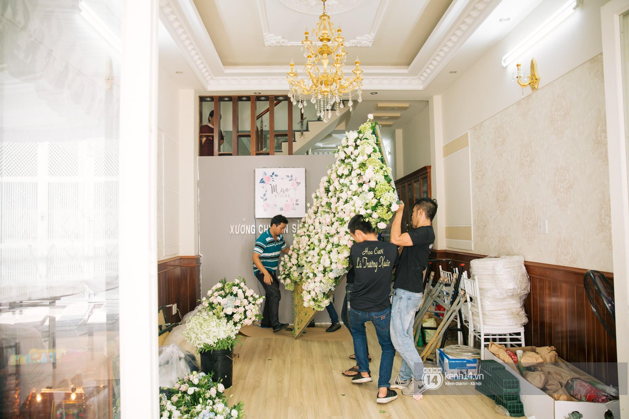 Cưới Trường Giang Nhã Phương: Nhà cô dâu bày trí cho hôn lễ chiều nay- Ảnh 7.