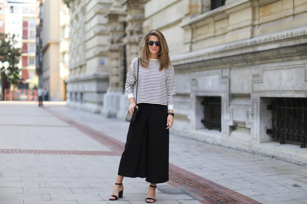 6 Cách mặc đẹp với quần lửng ống rộng elle Vietnam 15