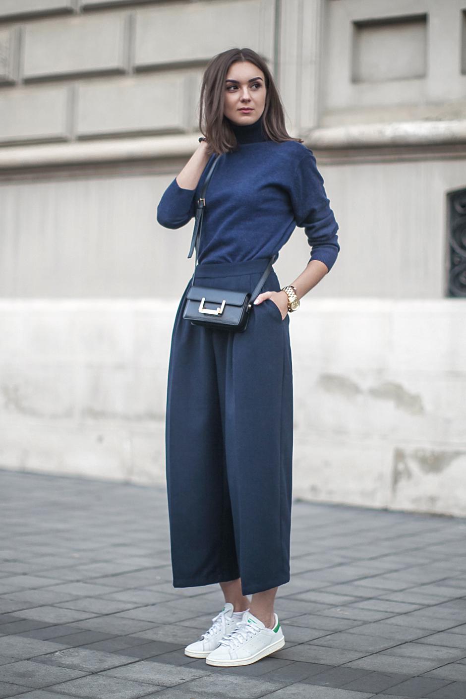 6 Cách mặc đẹp với quần lửng ống rộng elle Vietnam 12
