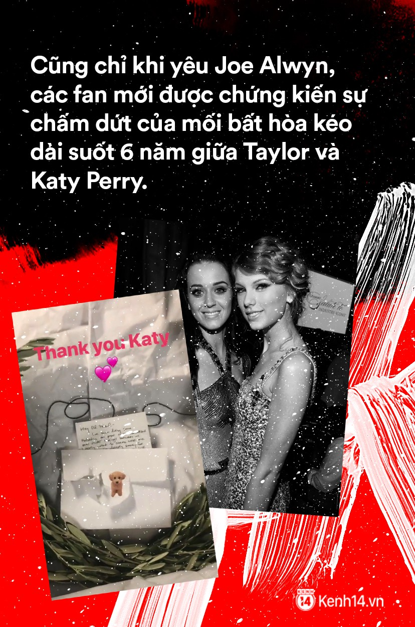 Taylor Swift: Từ nàng rắn với tình sử ồn ào trở thành cô mèo trầm lặng và trưởng thành trong tình yêu - Ảnh 11.