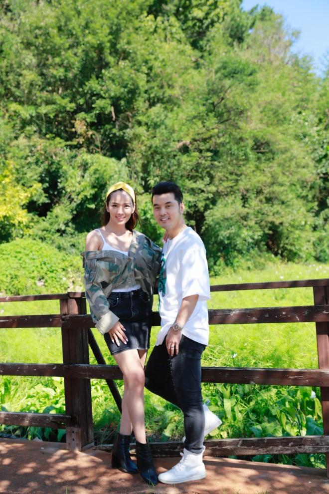 Ưng Hoàng Phúc ngọt ngào khoá môi Kim Cương tại Hàn Quốc sau màn cầu hôn lãng mạn - Ảnh 4.