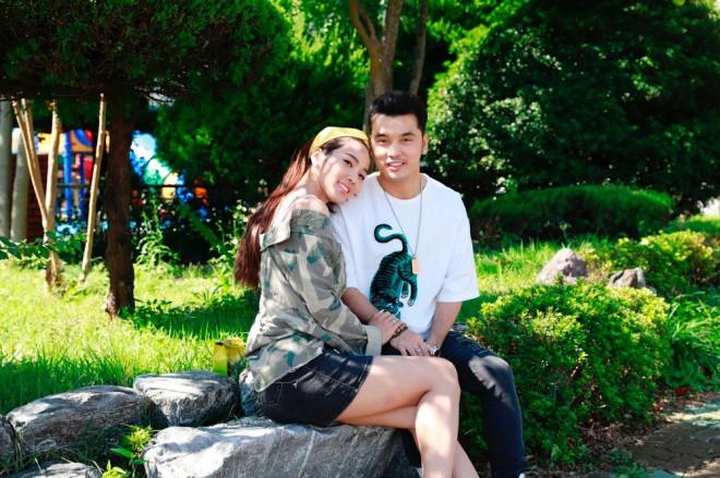 Ưng Hoàng Phúc ngọt ngào khoá môi Kim Cương tại Hàn Quốc sau màn cầu hôn lãng mạn - Ảnh 5.