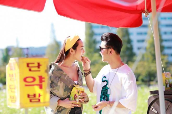 Ưng Hoàng Phúc ngọt ngào khoá môi Kim Cương tại Hàn Quốc sau màn cầu hôn lãng mạn - Ảnh 3.