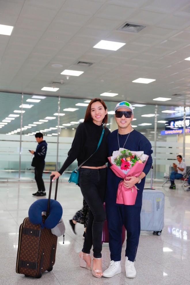 Ưng Hoàng Phúc ngọt ngào khoá môi Kim Cương tại Hàn Quốc sau màn cầu hôn lãng mạn - Ảnh 1.