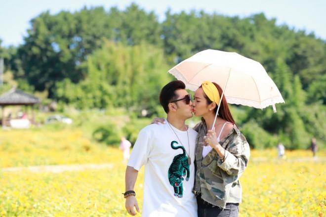 Ưng Hoàng Phúc ngọt ngào khoá môi Kim Cương tại Hàn Quốc sau màn cầu hôn lãng mạn - Ảnh 2.