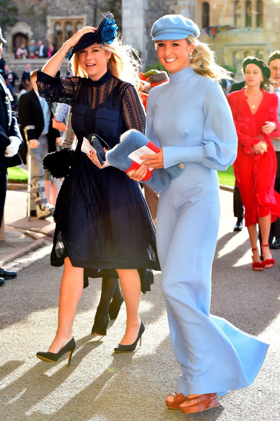 Đám cưới Công chúa Eugenie: Cara Delevingne chơi trội diện đồ nam, làm lu mờ cả Công nương Kate và Meghan - Ảnh 12.
