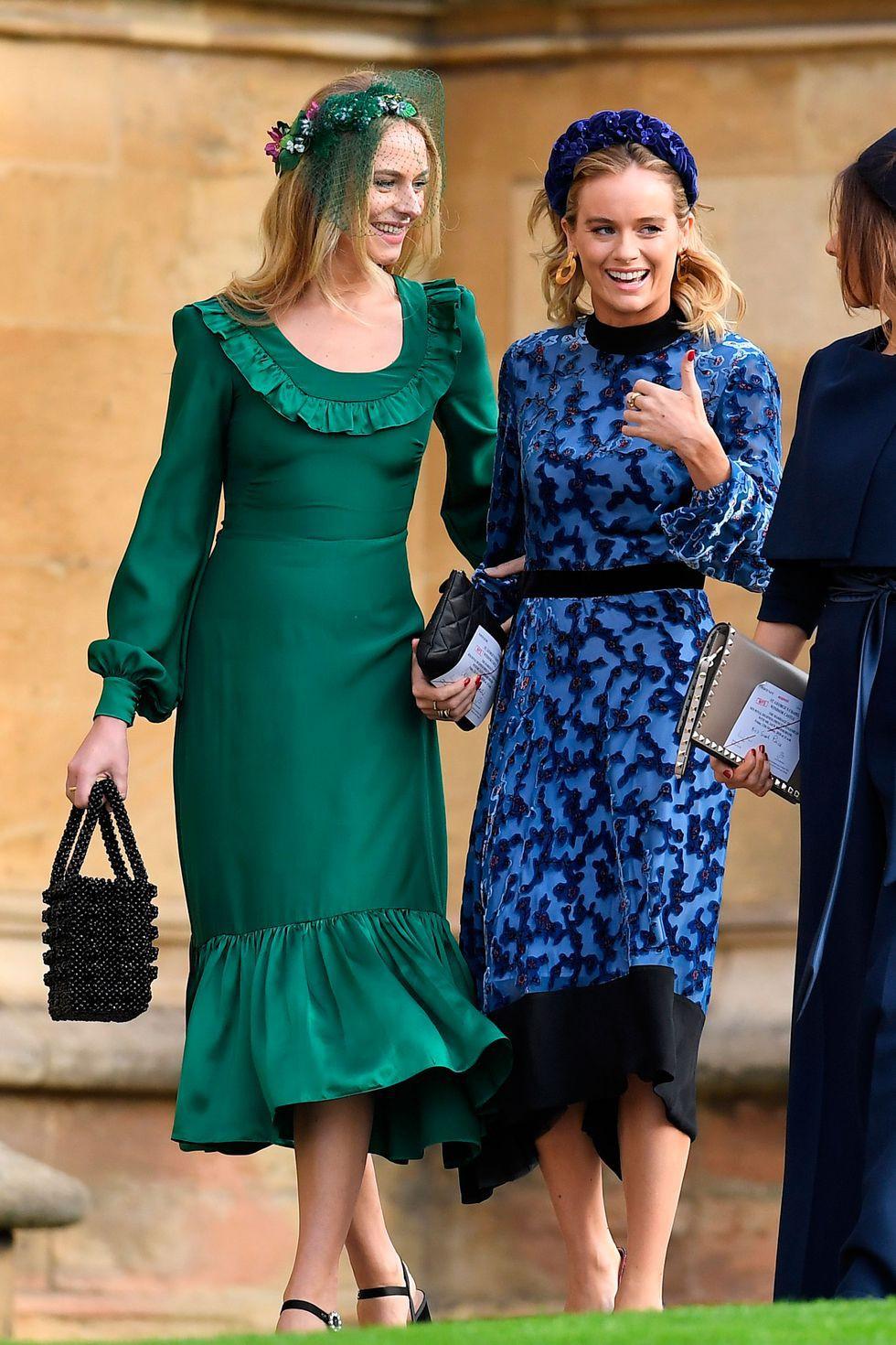Đám cưới Công chúa Eugenie: Cara Delevingne chơi trội diện đồ nam, làm lu mờ cả Công nương Kate và Meghan - Ảnh 16.