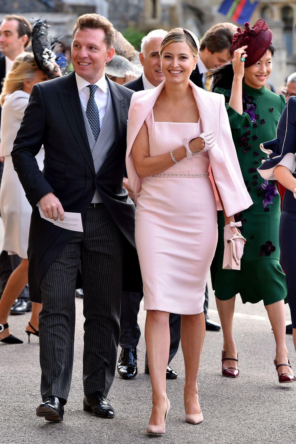 Đám cưới Công chúa Eugenie: Cara Delevingne chơi trội diện đồ nam, làm lu mờ cả Công nương Kate và Meghan - Ảnh 14.