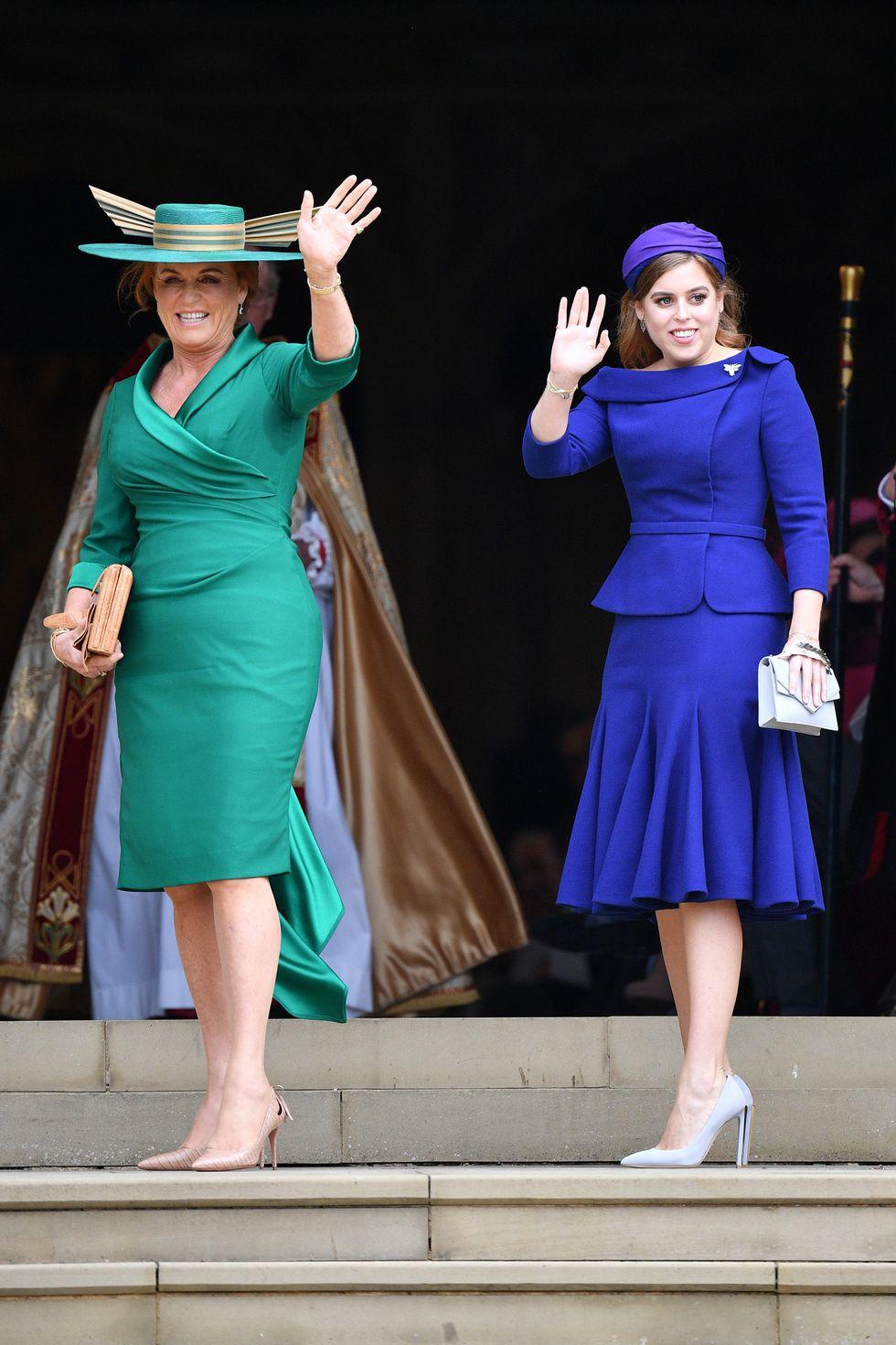 Đám cưới Công chúa Eugenie: Cara Delevingne chơi trội diện đồ nam, làm lu mờ cả Công nương Kate và Meghan - Ảnh 11.