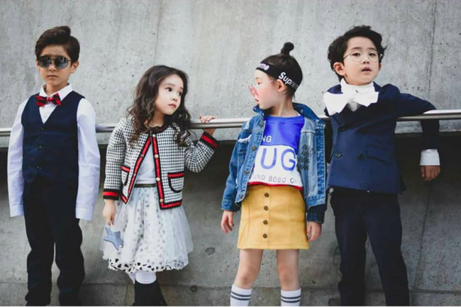 Cứ đến Seoul Fashion Week, dân tình chỉ ngóng trông street style vừa chất vừa yêu của những fashionista nhí này - Ảnh 15.