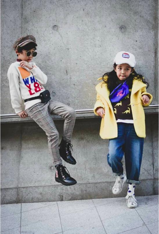 Cứ đến Seoul Fashion Week, dân tình chỉ ngóng trông street style vừa chất vừa yêu của những fashionista nhí này - Ảnh 18.