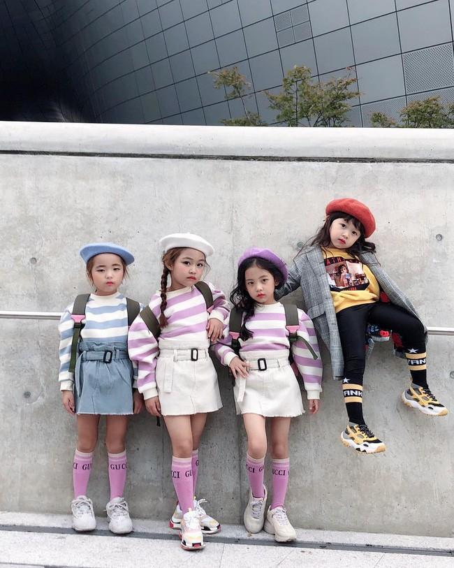 Cứ đến Seoul Fashion Week, dân tình chỉ ngóng trông street style vừa chất vừa yêu của những fashionista nhí này - Ảnh 4.