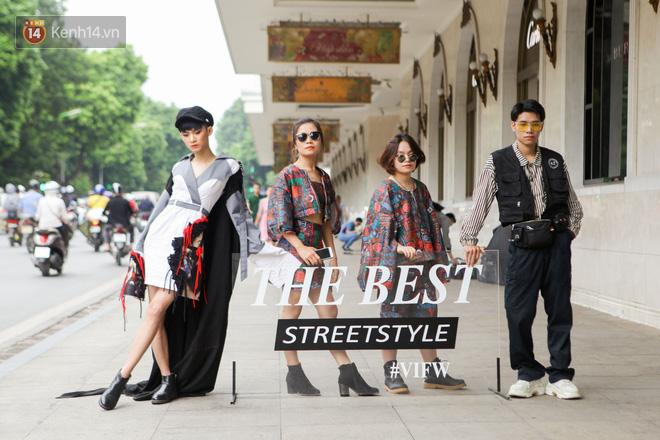 Street style Vietnam International Fashion Week ngày 4: các bạn trẻ đã bớt ăn mặc lồng lộn khó cảm - Ảnh 12.