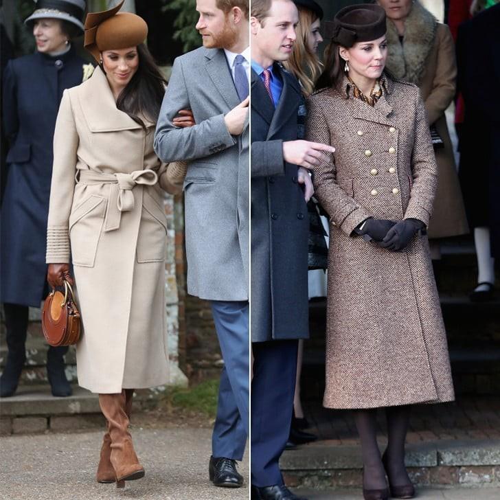 Chẳng tỏ ra ganh đua hay copy, thế mà Công nương Meghan và Kate lắm khi giống hệt hai chị em song sinh - Ảnh 6.