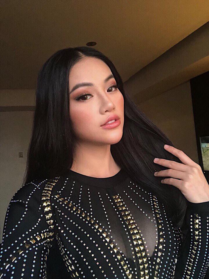 Tân Hoa hậu Trái đất 2018 năm 17 tuổi nổi danh với cái tên Ngọc My, em gái kết nghĩa của Ngọc Trinh - Ảnh 2.