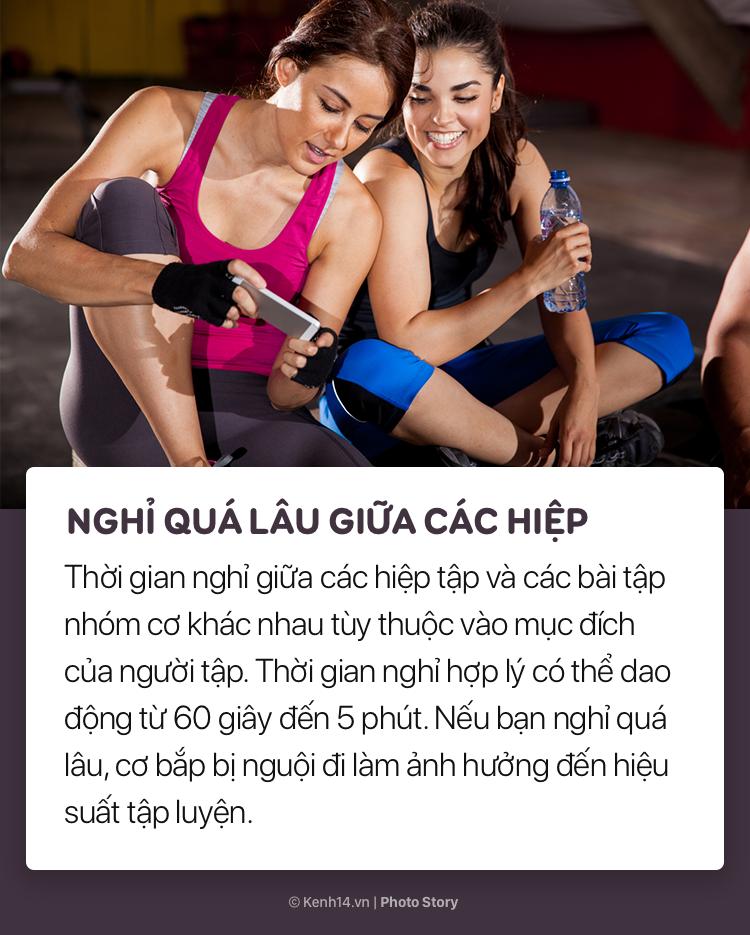Nguyên nhân khiến việc tập gym ngày đêm mà vẫn không giúp bạn có được vóc dáng mong ước - Ảnh 7.