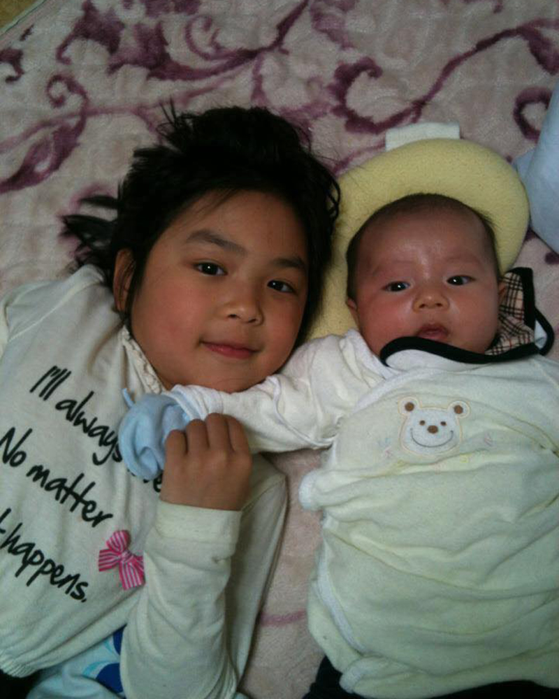 Đúng 1 năm sau ngày Nhật Linh bị sát hại, gia đình em đón thành viên mới mang tên Bình An 4