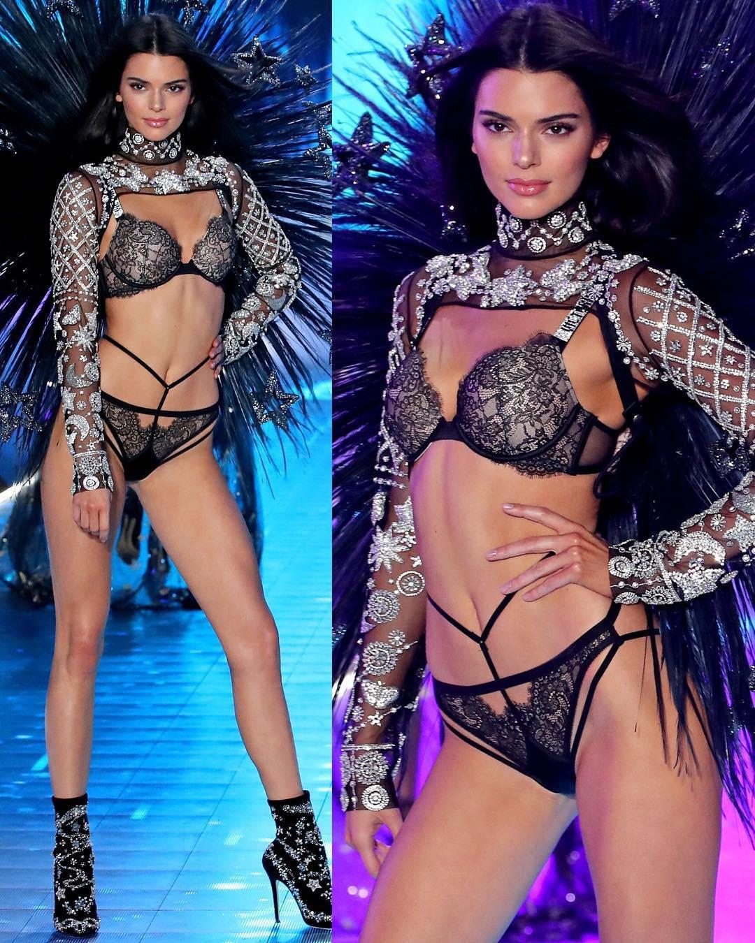 Kendall Jenner chiêu đãi fan thêm bộ ảnh quyến rũ hút hồn giữa lúc show Victorias Secret diễn ra - Ảnh 5.