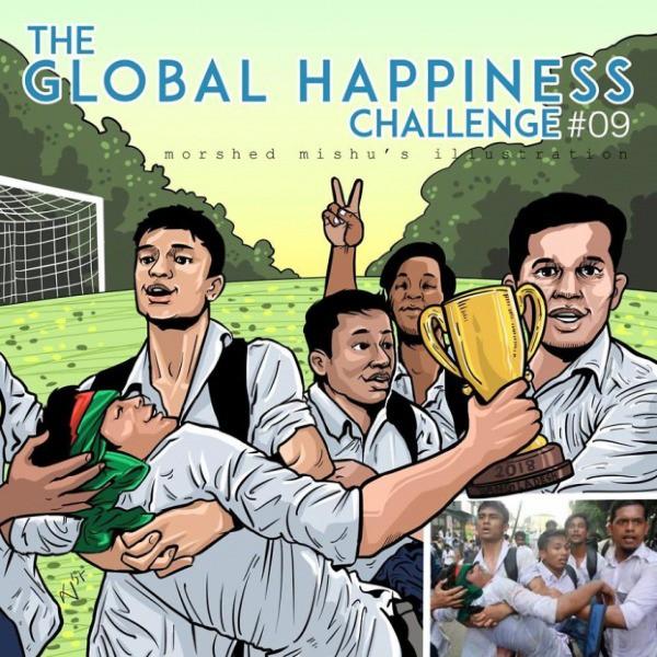 Lặng người xem những bức vẽ về hạnh phúc, được tái hiện từ cuộc sống tan thương ở Syria - Ảnh 18.