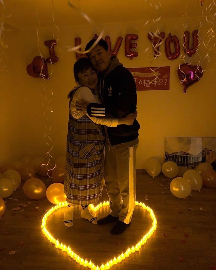 Màn cầu hôn khó tin của danh hài Hàn giảm 30kg và bạn trai: Bí mật bố trí, ai ngờ ngỏ lời cùng ngày, mặc giống nhau - Ảnh 5.