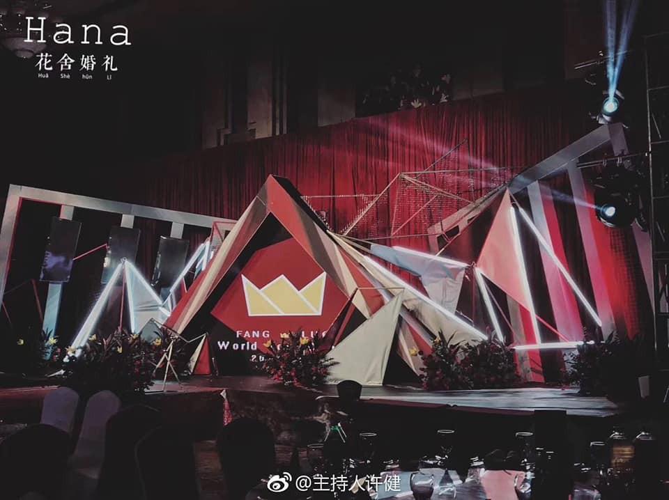 Khi cô dâu và chú rể đều là fan Big Bang: Sân khấu ngập tràn sắc đỏ, hoa cưới cũng chính là lightstick - Ảnh 3.