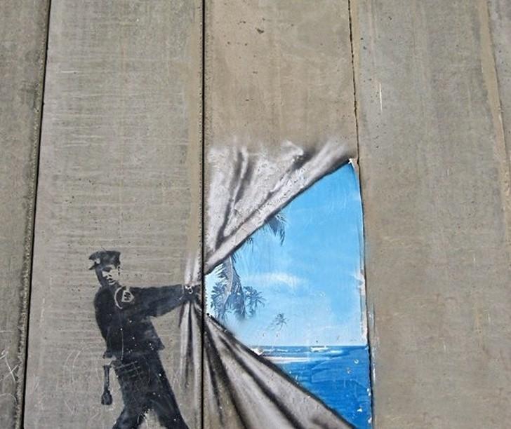 Khi những bức tường nhàm chán được thổi hồn bằng tranh vẽ, ai đi qua cũng sẽ phải ngoái nhìn - Ảnh 8.