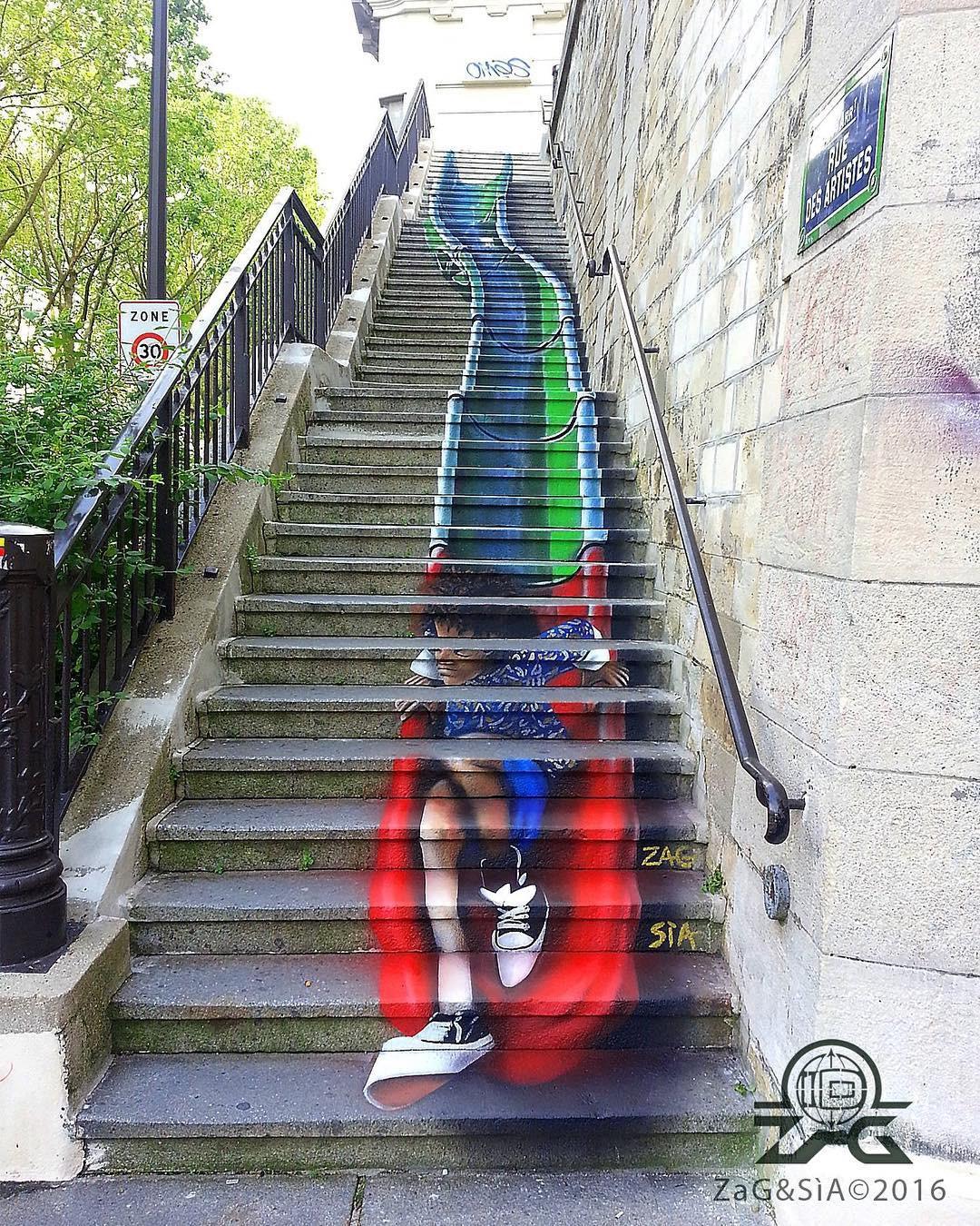 Khi những bức tường nhàm chán được thổi hồn bằng tranh vẽ, ai đi qua cũng sẽ phải ngoái nhìn - Ảnh 7.