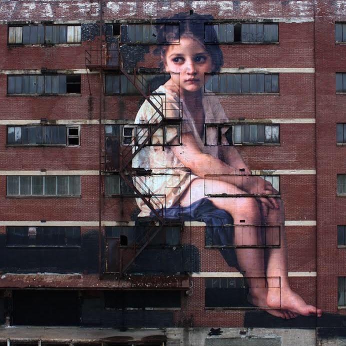 Khi những bức tường nhàm chán được thổi hồn bằng tranh vẽ, ai đi qua cũng sẽ phải ngoái nhìn - Ảnh 2.