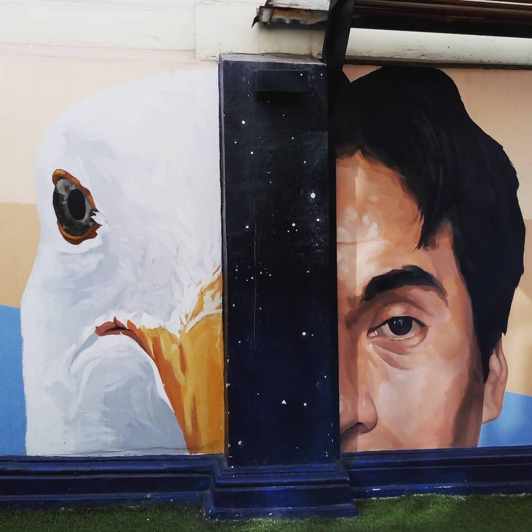 Khi những bức tường nhàm chán được thổi hồn bằng tranh vẽ, ai đi qua cũng sẽ phải ngoái nhìn - Ảnh 4.
