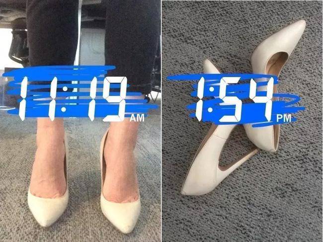Để giảm đau chân khi đi giày cao gót, cô nàng này đã tìm ra tuyệt kỹ rẻ và hữu hiệu nhất nhờ thứ này - Ảnh 13.
