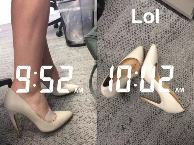 Để giảm đau chân khi đi giày cao gót, cô nàng này đã tìm ra tuyệt kỹ rẻ và hữu hiệu nhất nhờ thứ này - Ảnh 7.