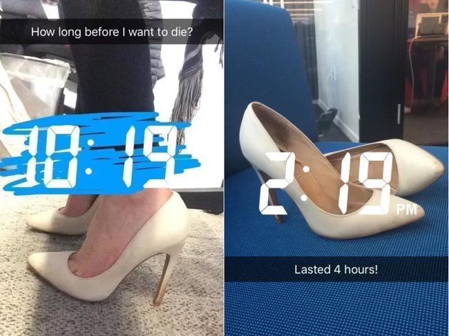 Để giảm đau chân khi đi giày cao gót, cô nàng này đã tìm ra tuyệt kỹ rẻ và hữu hiệu nhất nhờ thứ này - Ảnh 3.