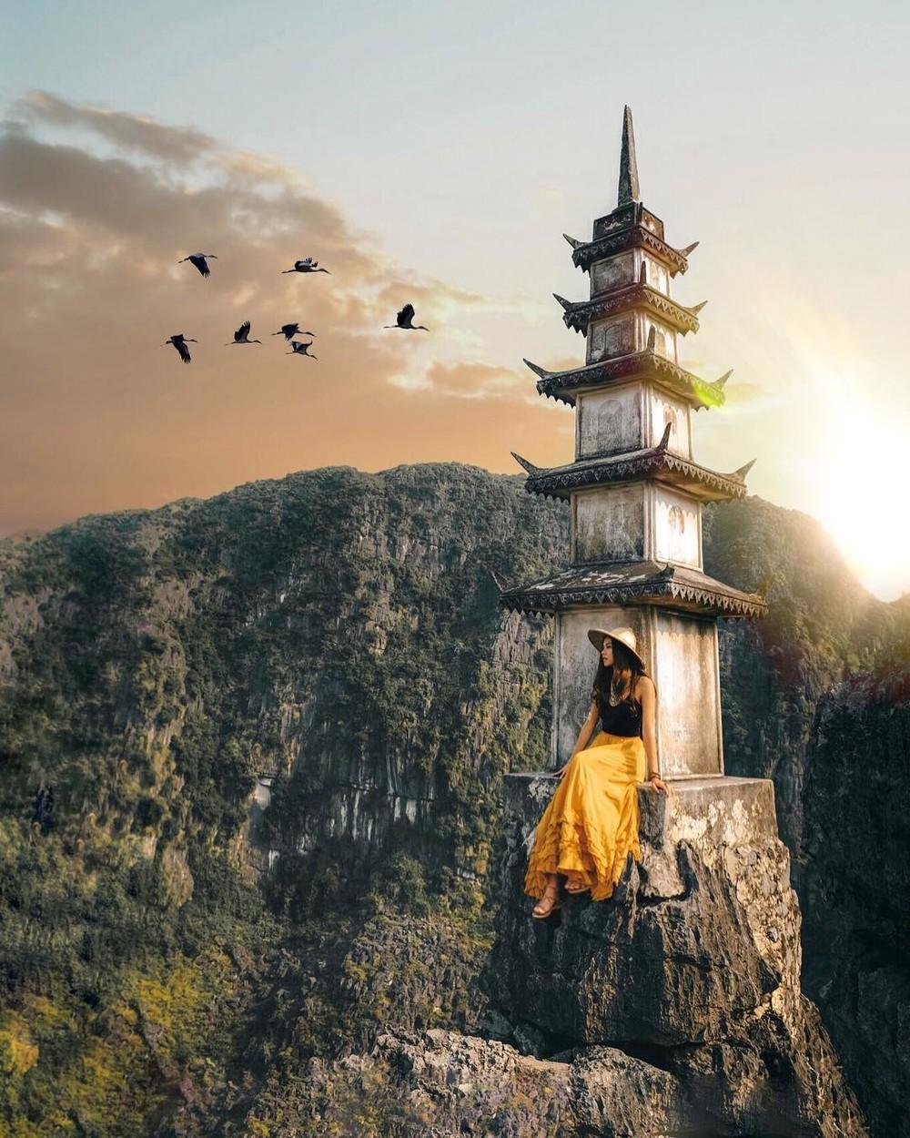 Tọa độ check-in hot nhất ở Ninh Bình: Hùng vĩ và ảo diệu không thua gì cảnh phim cổ trang - Ảnh 10.