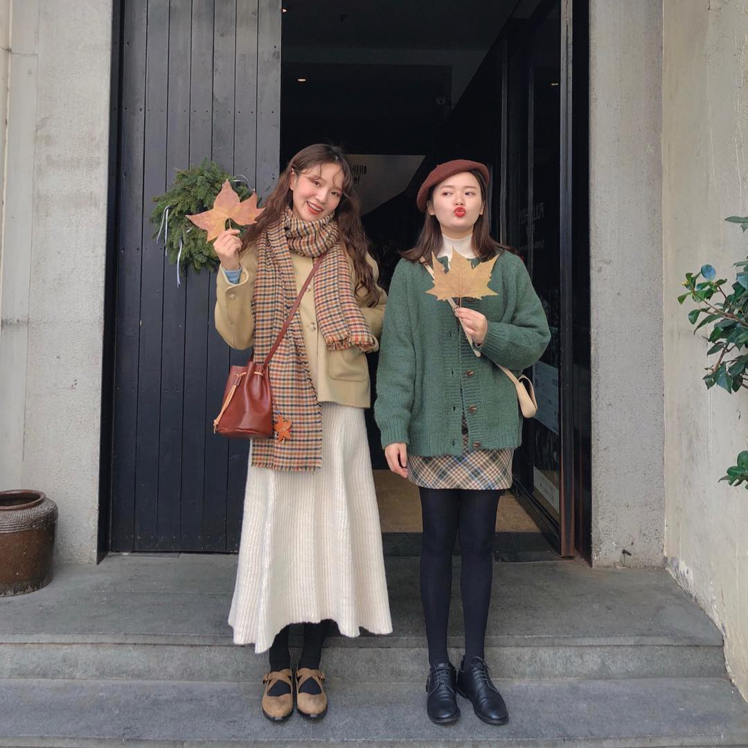 Cặp bạn thân Trung - Hàn xinh đẹp, diện đồ ton sur ton nhìn phát mê trên Instagram - Ảnh 8.
