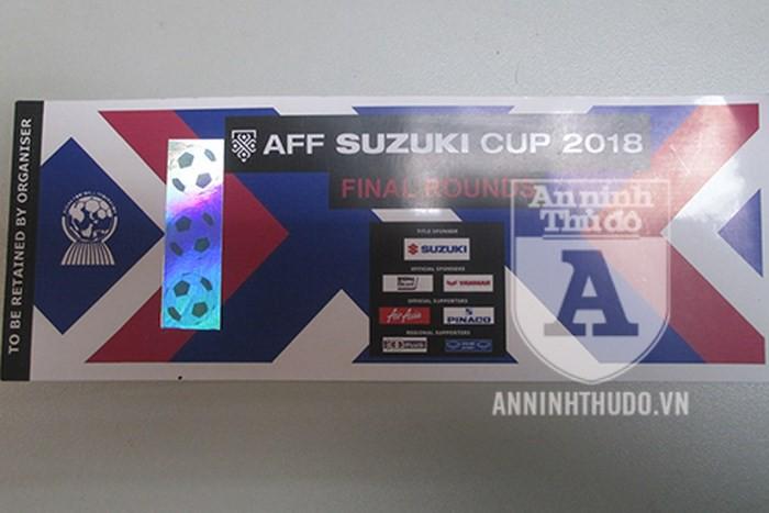 Cảnh giác: Vé giả xem trận chung kết AFF Cup 2018 lan sang chợ trực tuyến - Ảnh 1.