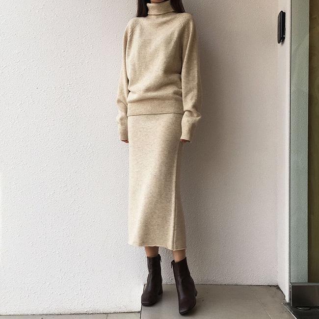 Trời lạnh mà cứ ngại diện chân váy, đấy là bạn chưa biết 12 công thức diện rất đẹp mà còn rất ấm này rồi! - Ảnh 8.