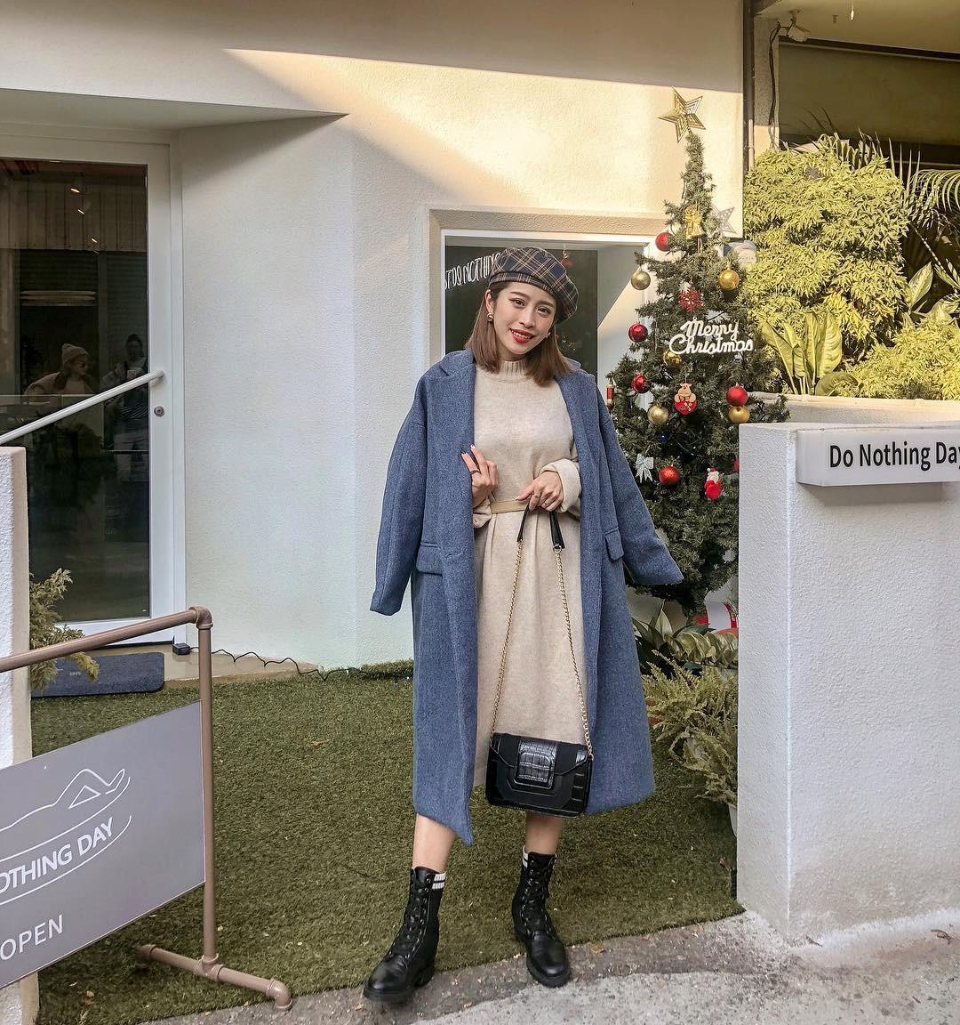 4 công thức mix&match với áo khoác dạ - item 'sống mãi với thời gian' mà mùa đông nào các nàng cũng đem ra diện 14