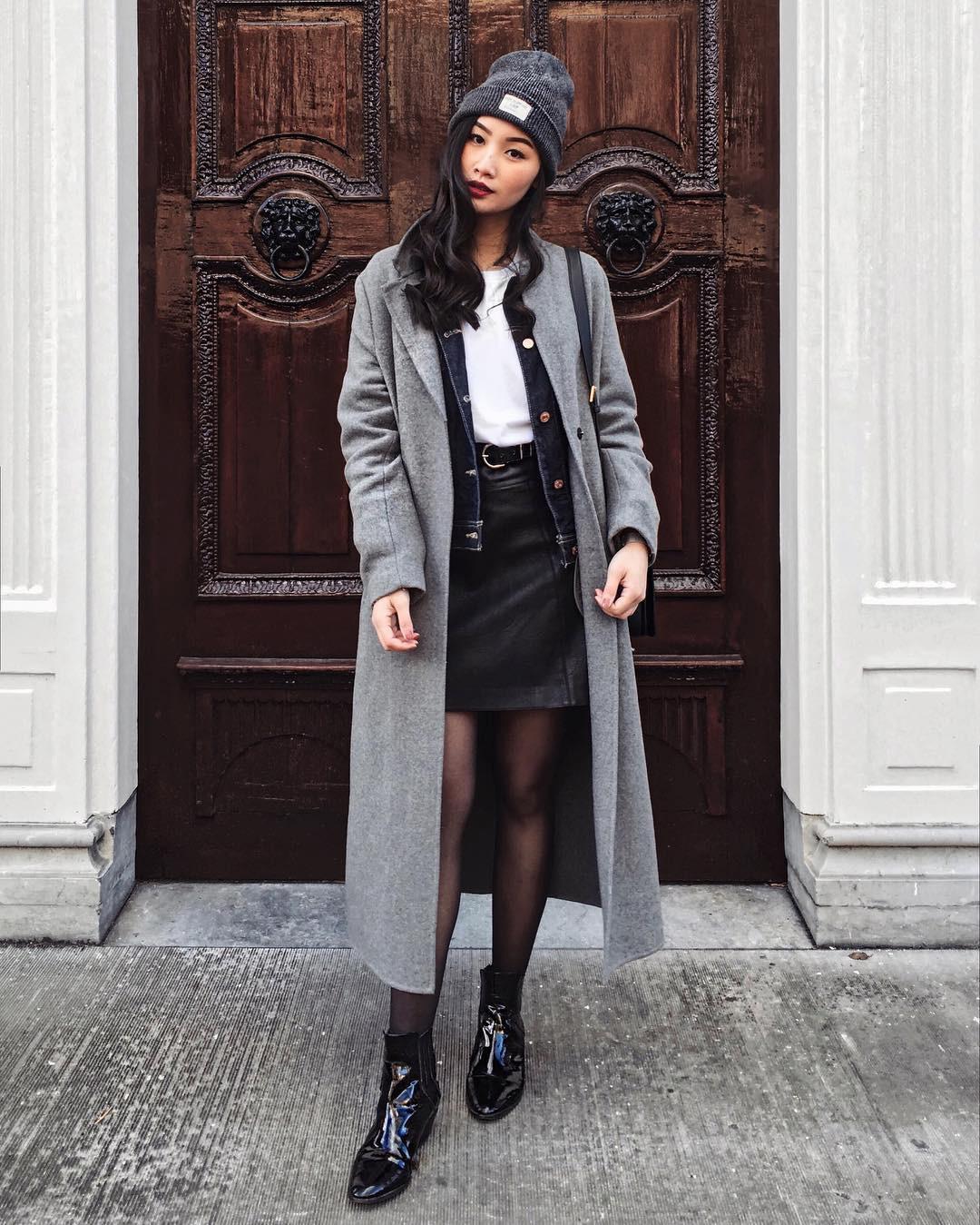 4 công thức mix&match với áo khoác dạ - item 'sống mãi với thời gian' mà mùa đông nào các nàng cũng đem ra diện 11