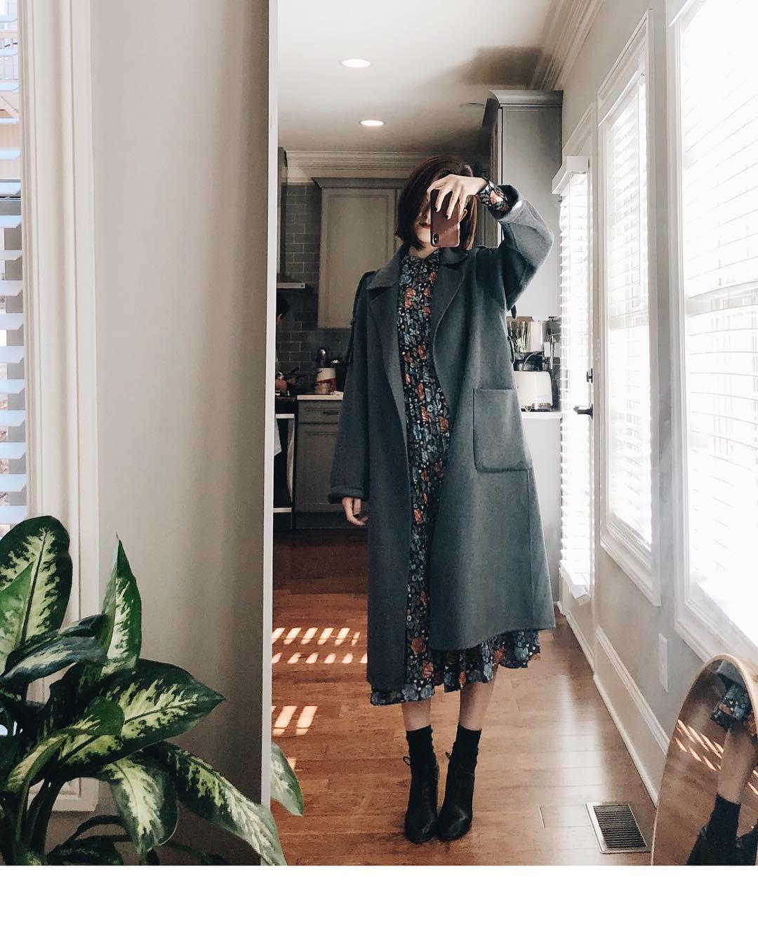 4 công thức mix&match với áo khoác dạ - item 'sống mãi với thời gian' mà mùa đông nào các nàng cũng đem ra diện 12