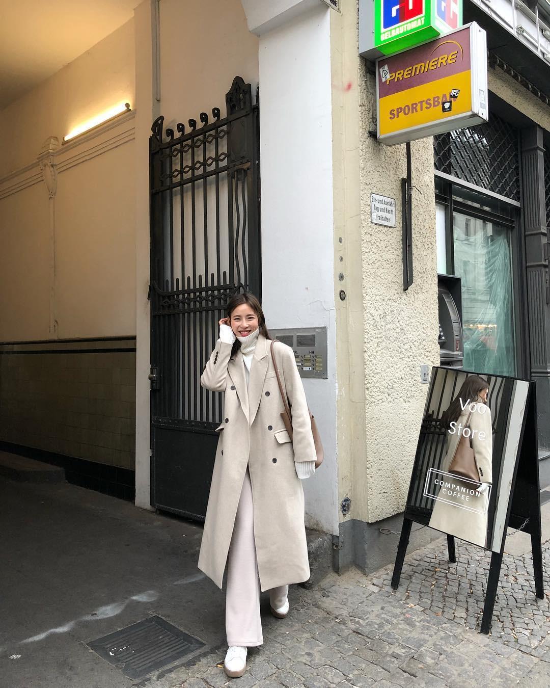 4 công thức mix&match với áo khoác dạ - item 'sống mãi với thời gian' mà mùa đông nào các nàng cũng đem ra diện 5