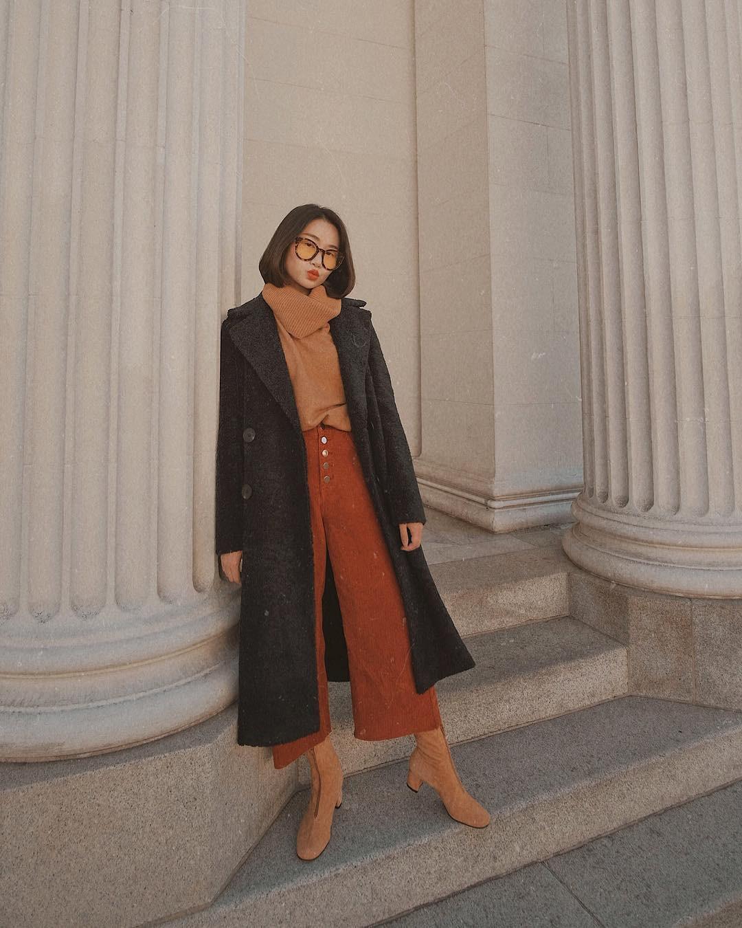 4 công thức mix&match với áo khoác dạ - item 'sống mãi với thời gian' mà mùa đông nào các nàng cũng đem ra diện 4