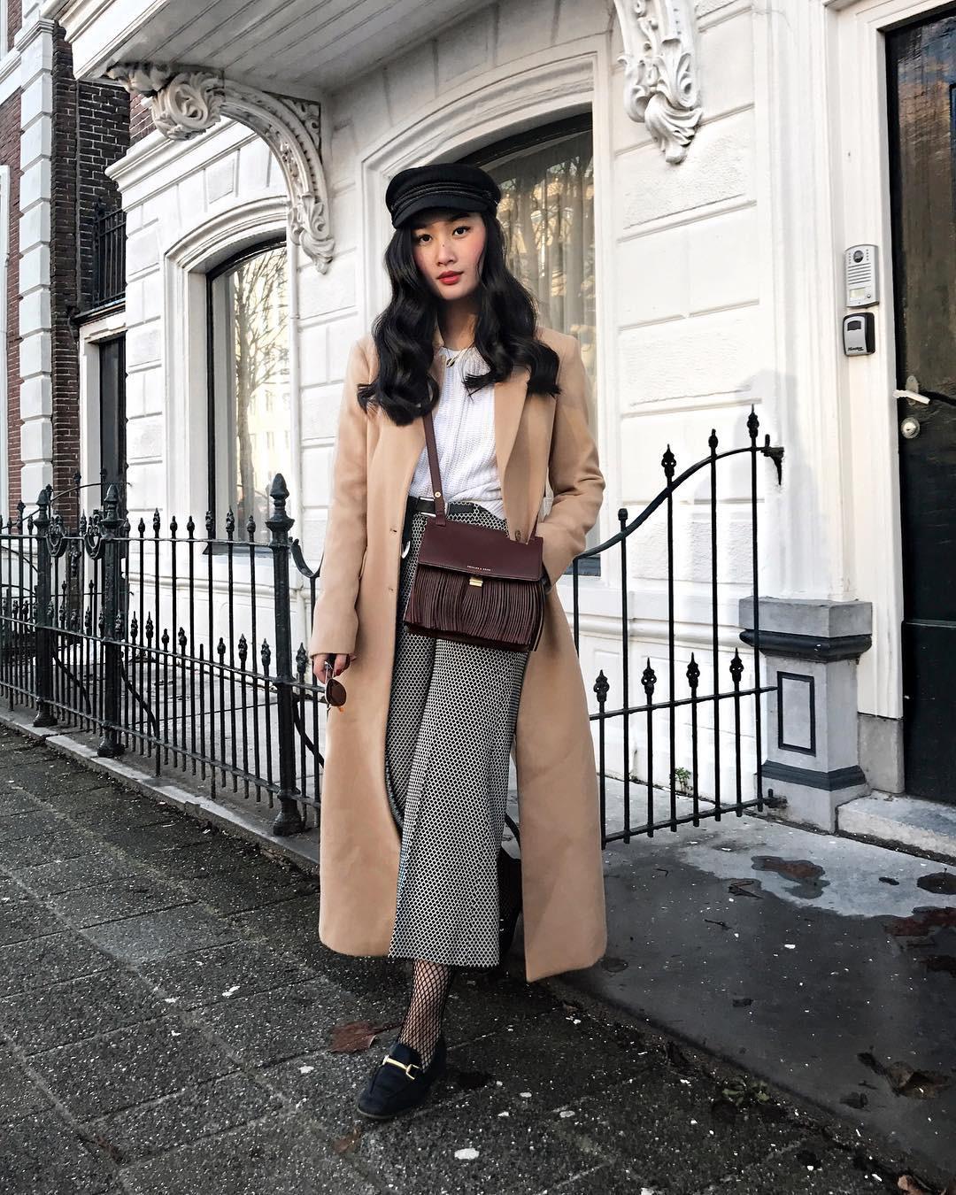 4 công thức mix&match với áo khoác dạ - item 'sống mãi với thời gian' mà mùa đông nào các nàng cũng đem ra diện 6