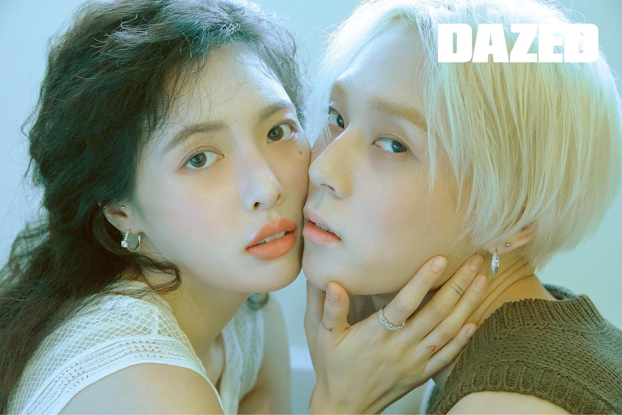 Cặp đôi lố nhất nhì Kbiz Hyuna và EDawn tung ảnh tạp chí gây sốc: Cảnh giới nghệ thuật... không ai muốn hiểu - Ảnh 1.