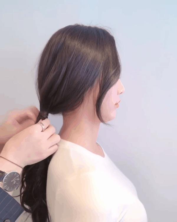 Tóc đuôi ngựa + mái xoăn nhẹ: Công thức kiêu kỳ hết nấc cho hội tóc dài làm điệu mùa tiệc tùng cuối năm 8