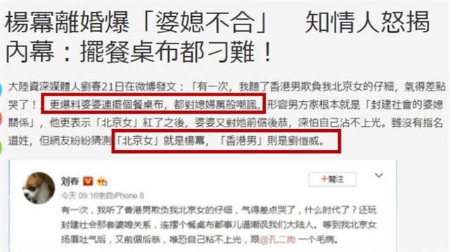 Hé lộ lý do Dương Mịch và Lưu Khải Uy ly hôn: Mọi nguồn cơn xuất phát từ một người phụ nữ? - Ảnh 2.