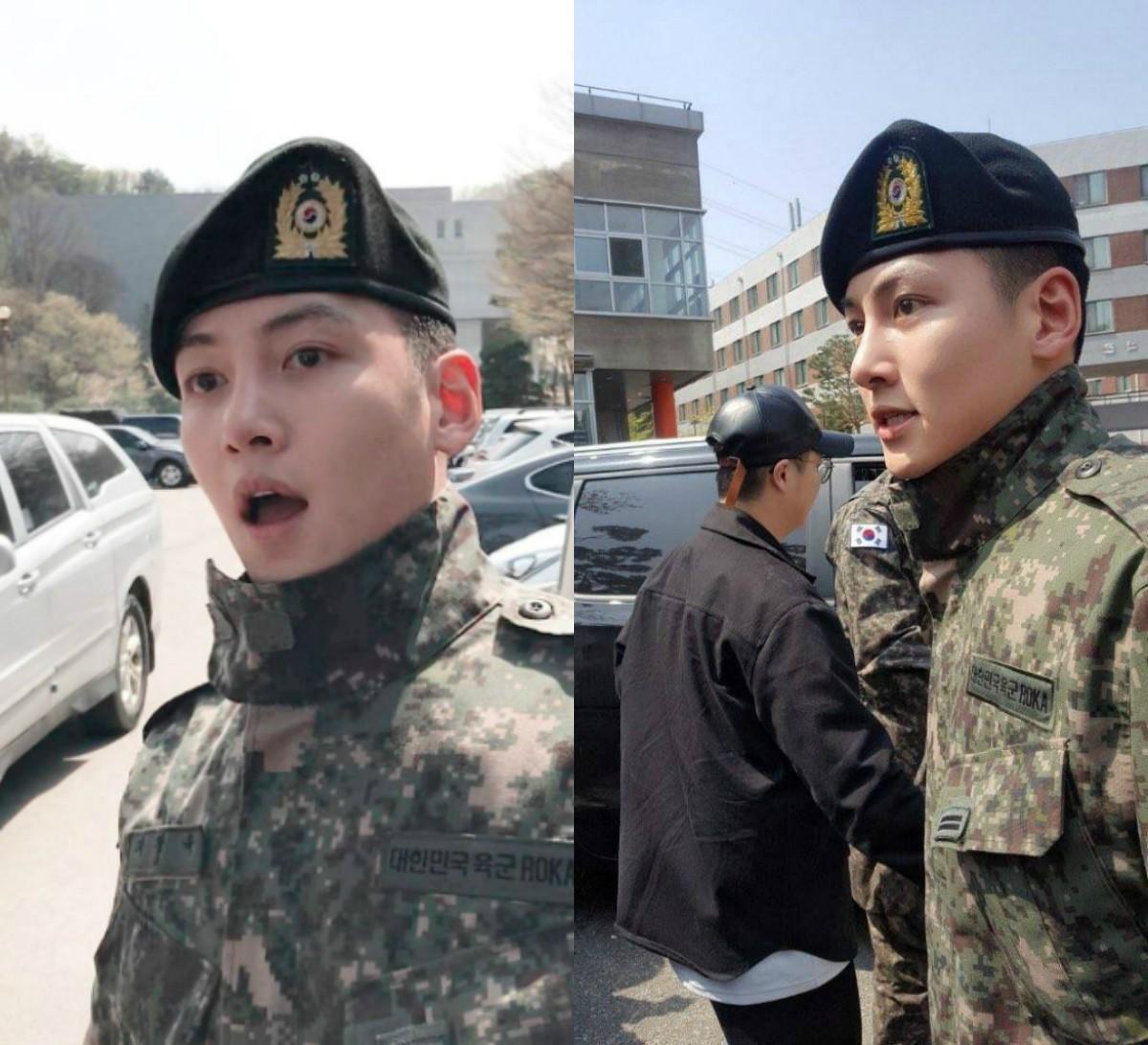 Ai ngờ nhập ngũ là thước đo nhan sắc chuẩn nhất của các nam thần Kbiz: Hyun Bin, Ji Chang Wook gây sốc vì mặt mộc - Ảnh 5.