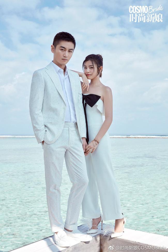 Trọn vẹn bộ ảnh cưới cặp đôi Trần Hiểu - Trần Nghiên Hy chụp lần 2 hâm nóng tình cảm vợ chồng - Ảnh 3.