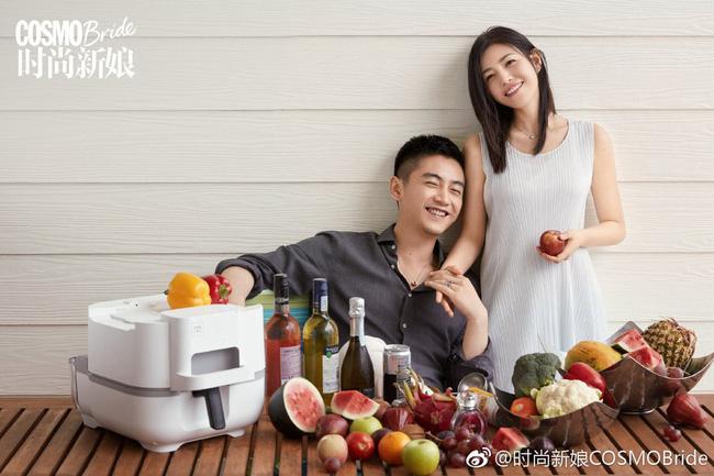 Trọn vẹn bộ ảnh cưới cặp đôi Trần Hiểu - Trần Nghiên Hy chụp lần 2 hâm nóng tình cảm vợ chồng - Ảnh 9.