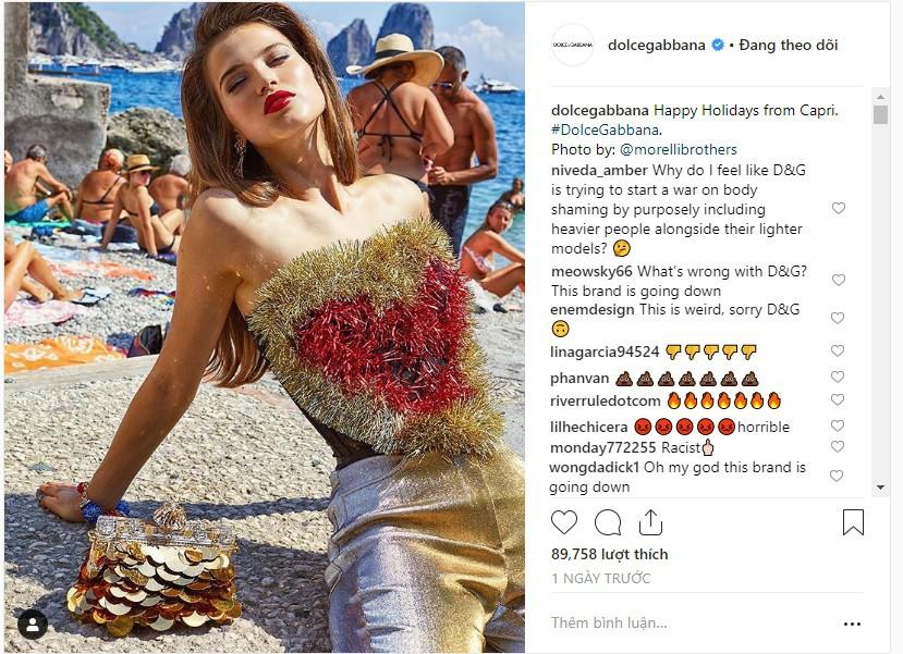 """Dolce & Gabbana tiếp tục """"ăn gạch"""" vì bộ ảnh mới bị cho là phân biệt giàu nghèo, body shaming và để lọt cả đồ Louis Vuitton - Ảnh 7."""