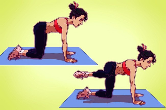 Thực hiện 8 bài tập này mỗi ngày là các nàng sẽ có đùi thon, chân đẹp